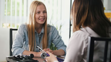 Addiction therapy session
